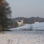 vue sous la neige